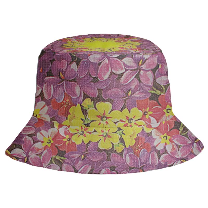 Printio Панама Цветочный каприз. комплект портьер цветочный каприз