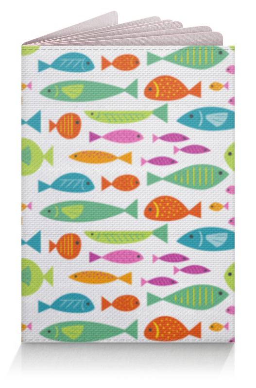 Printio Обложка для паспорта Морские рыбки