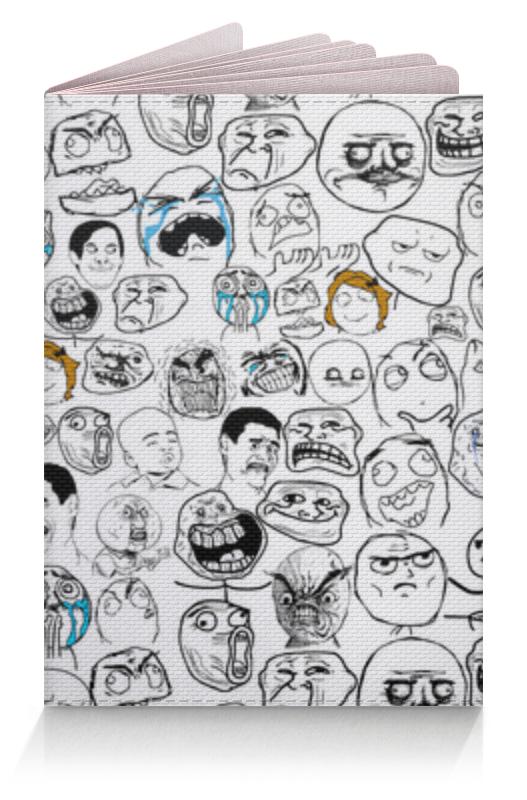 Printio Обложка для паспорта Мемы