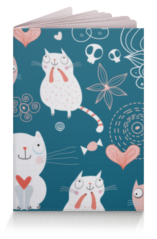 Printio Обложка для паспорта Прикольные коты