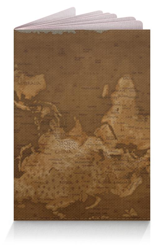 Printio Обложка для паспорта Карта мира