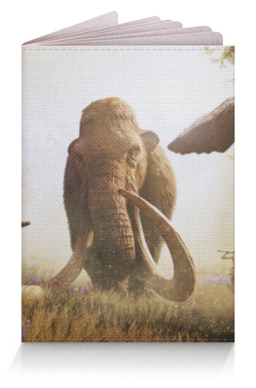 Printio Обложка для паспорта Мамонт (фар край)