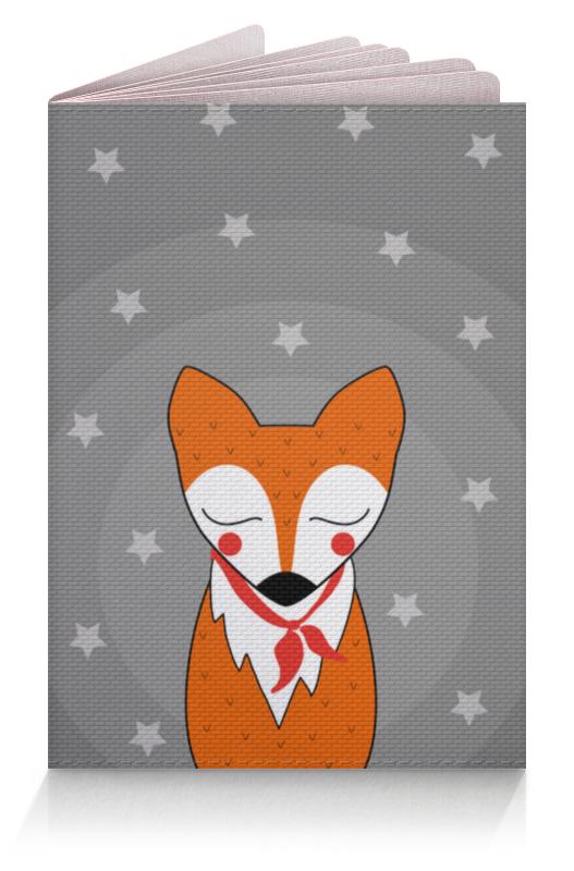 Printio Обложка для паспорта Лис под звёздами