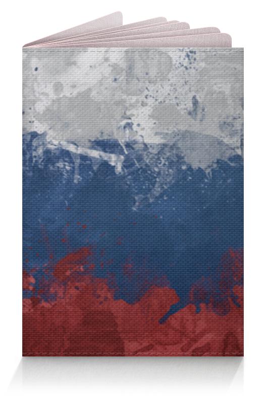 Фото - Printio Обложка для паспорта Российский флаг пивная каска российский флаг