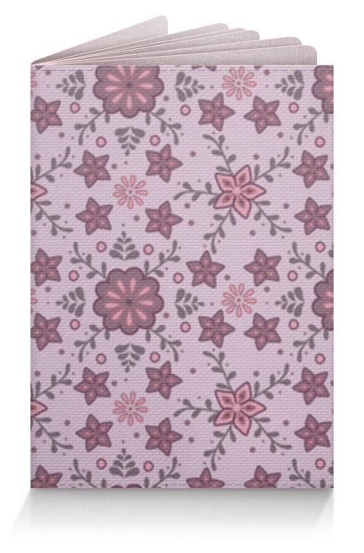 Printio Обложка для паспорта Обложка для паспорта с цветочным орнаментом