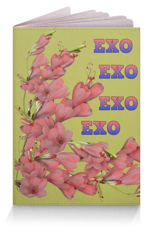 Printio Обложка для паспорта Exo красные цветы