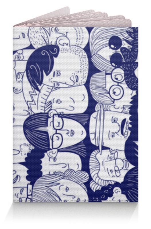 Printio Обложка для паспорта Многоликий