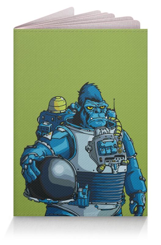 Printio Обложка для паспорта Космическая горилла