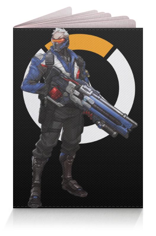Printio Обложка для паспорта Overwatch soldier 76 / овервотч солдат 76