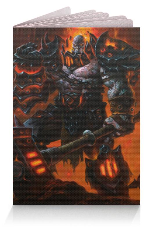 Printio Обложка для паспорта Огненный орк