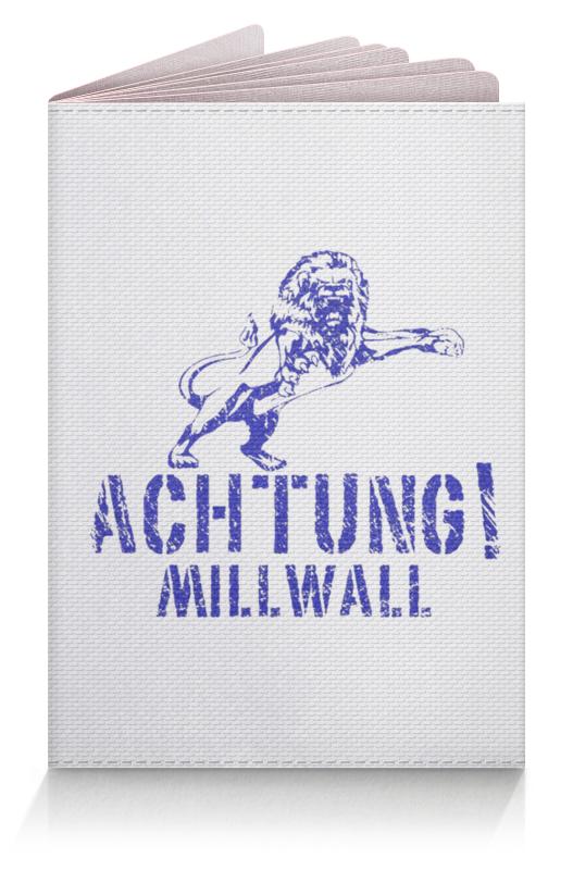 Printio Обложка для паспорта Achtung millwall fc logo passport cover
