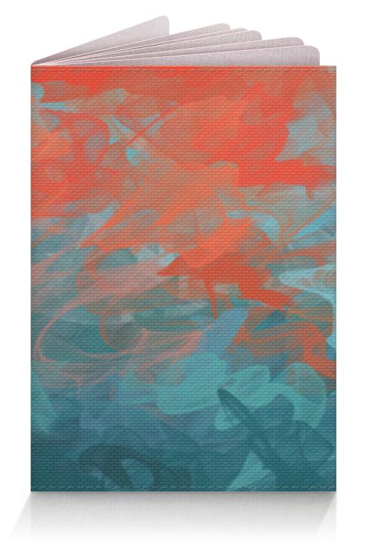 Printio Обложка для паспорта Абстрактный градиентный дизайн. дигитал акварель