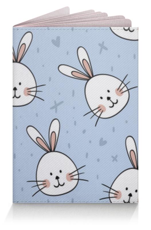 Printio Обложка для паспорта Милый кролик