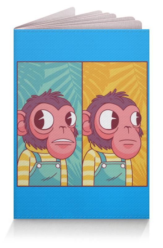 Printio Обложка для паспорта Мем с обезьяной