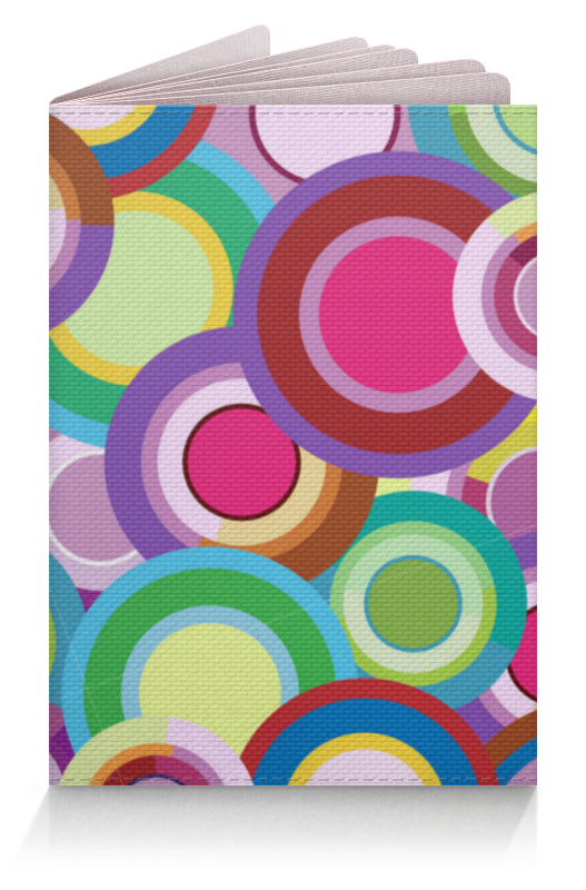 Printio Обложка для паспорта Цветные круги