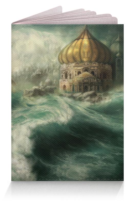 Printio Обложка для паспорта Шторм на море