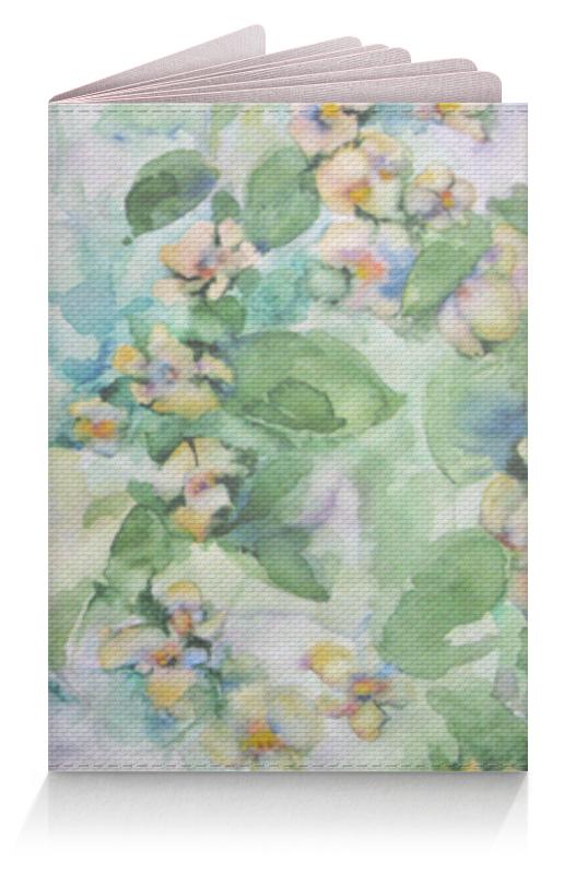 Фото - Printio Обложка для паспорта Жасмин printio обложка для паспорта цветок розовой эхинацеи