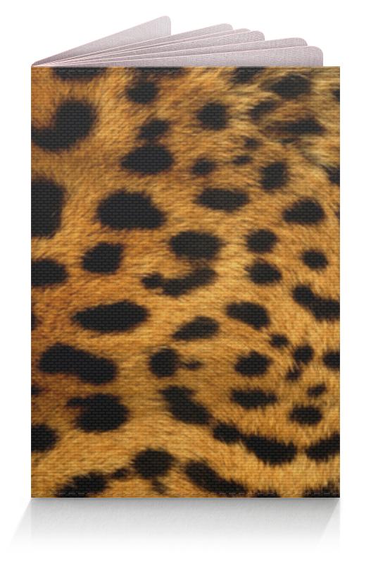 Фото - Printio Обложка для паспорта Леопард printio обложка для паспорта собака dog
