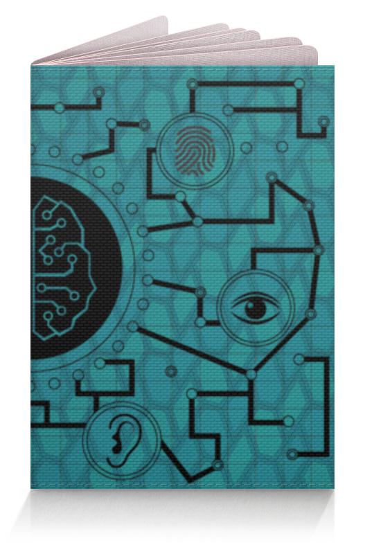 Фото - Printio Обложка для паспорта Мозговая связь printio рюкзак 3d мозговая связь