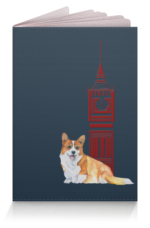 Фото - Printio Обложка для паспорта Моя любимая собака printio обложка для паспорта собака dog