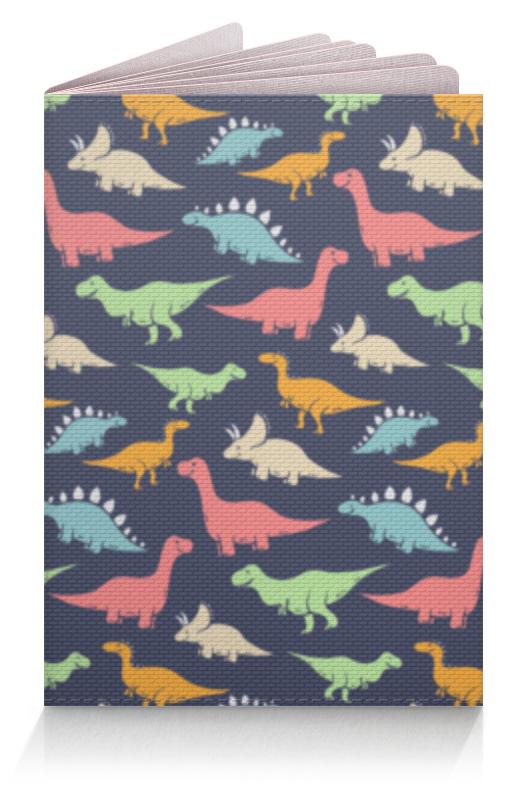 Фото - Printio Обложка для паспорта Динозавры printio обложка для паспорта динозавры фэнтези