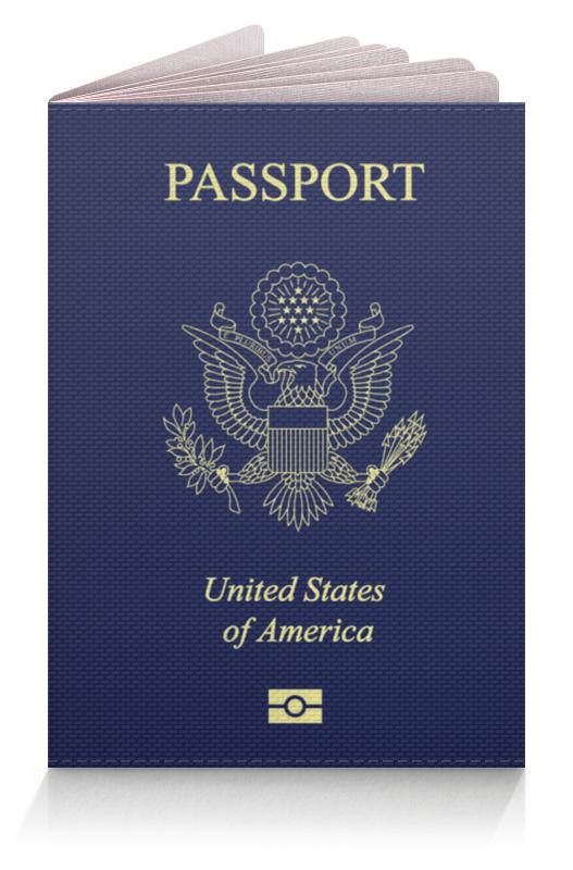 Printio Обложка для паспорта Usa passport