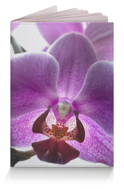 Фото - Printio Обложка для паспорта Орхидея printio обложка для паспорта цветок розовой эхинацеи