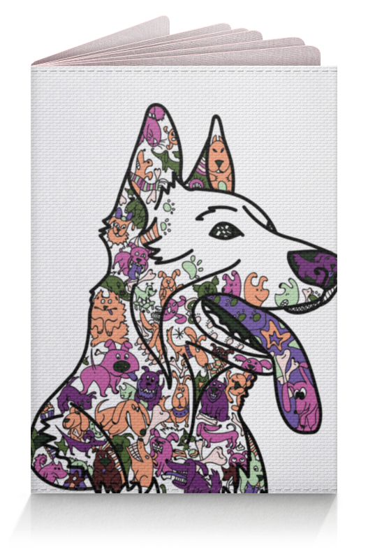 Printio Обложка для паспорта Забавные собаки