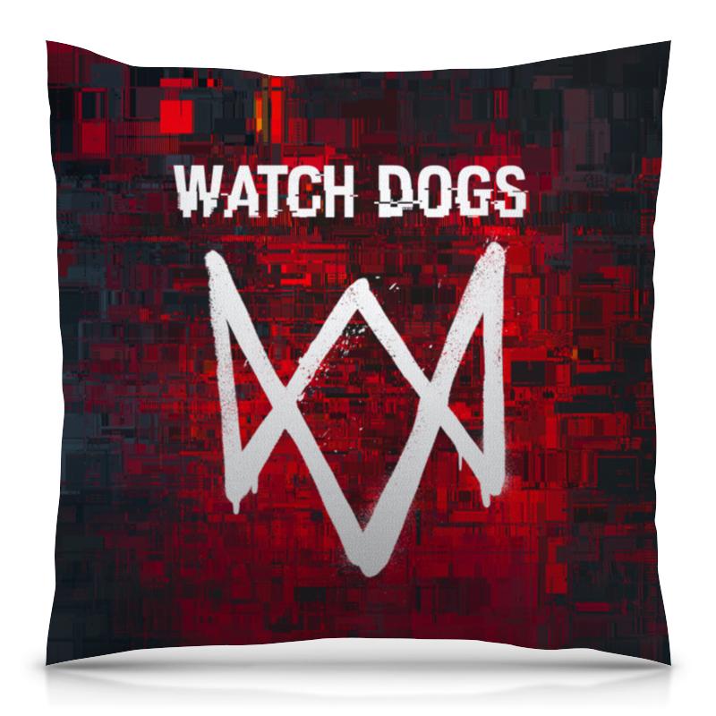Printio Подушка 40x40 см с полной запечаткой Watch dogs printio подушка 40x40 см с полной запечаткой watch dogs