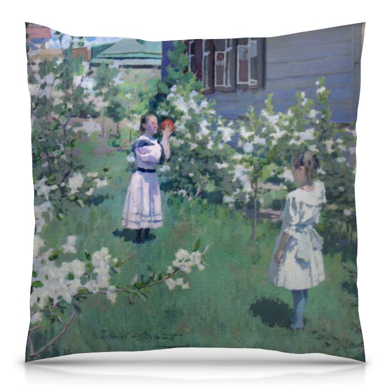 Printio Подушка 40x40 см с полной запечаткой Maйскиe цветы (виктор борисов-мусатов)