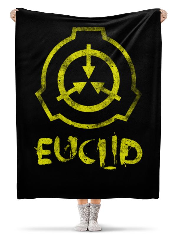 euclid euclid euclids elements of geometry Printio Плед флисовый 130×170 см Scp, euclid