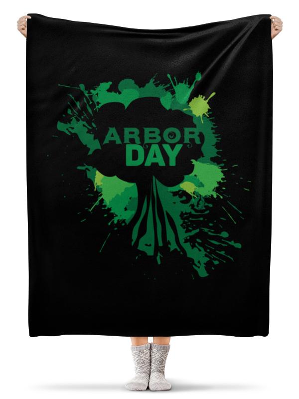 Printio Плед флисовый 130×170 см Arbor day