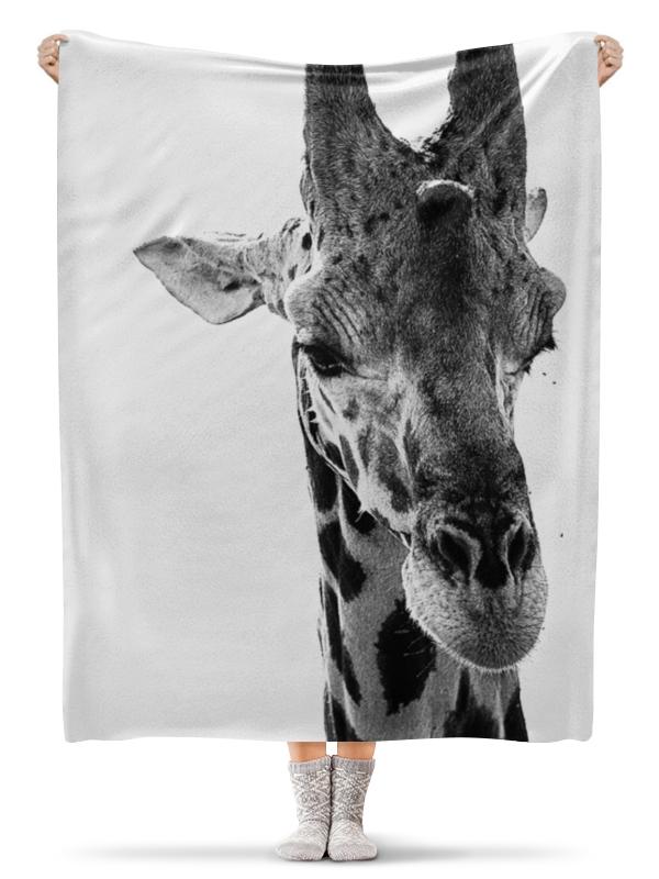 Printio Плед флисовый 130×170 см Голова самца жирафа