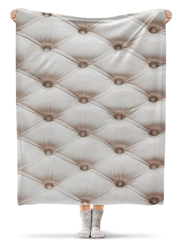 Printio Плед флисовый 130×170 см Постельные тона