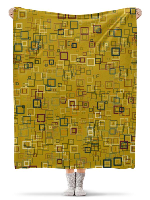 Фото - Printio Плед флисовый 130×170 см Квадраты printio плед флисовый 130×170 см красные маки на белом фоне