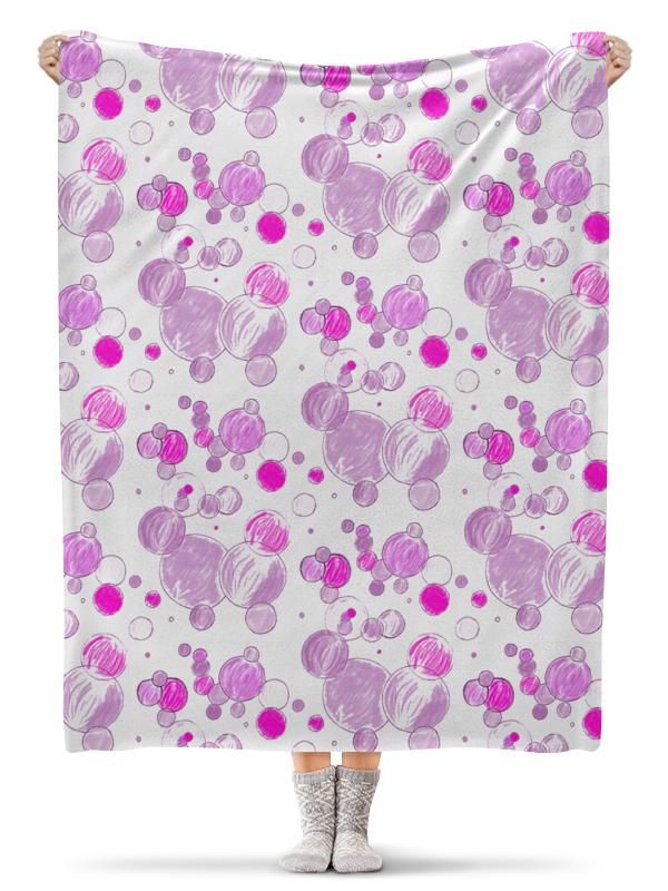 Фото - Printio Плед флисовый 130×170 см Плед цветные мыльные пузыри (1) плед