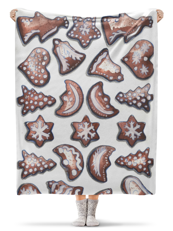 Фото - Printio Плед флисовый 130×170 см Новогодний плед плед