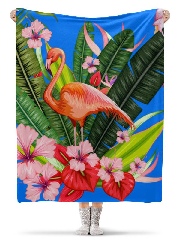 Printio Плед флисовый 130×170 см Фламинго плед флисовый тамитекс хеллоуин