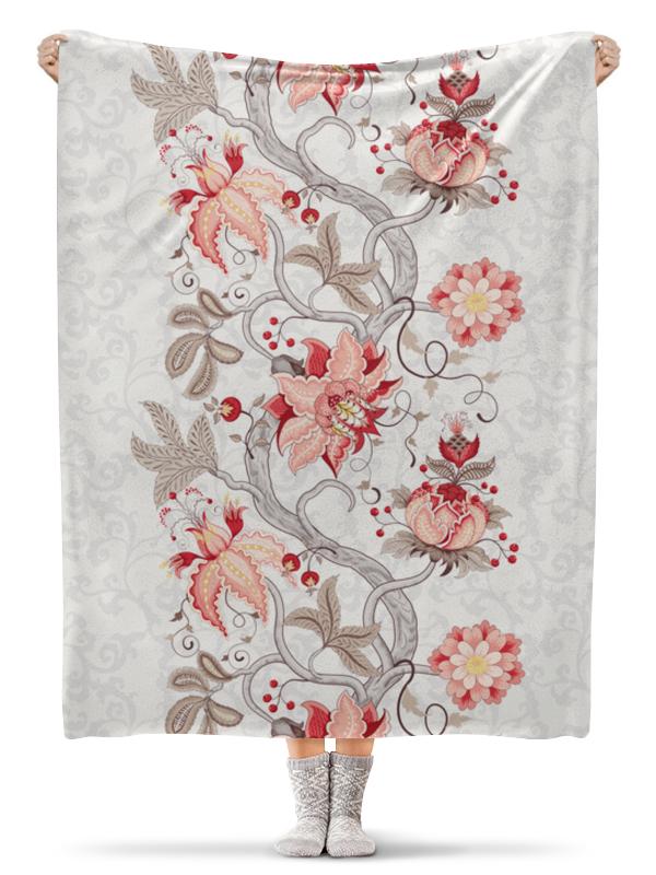 Фото - Printio Плед флисовый 130×170 см Цветы printio плед флисовый 130×170 см красные маки на белом фоне