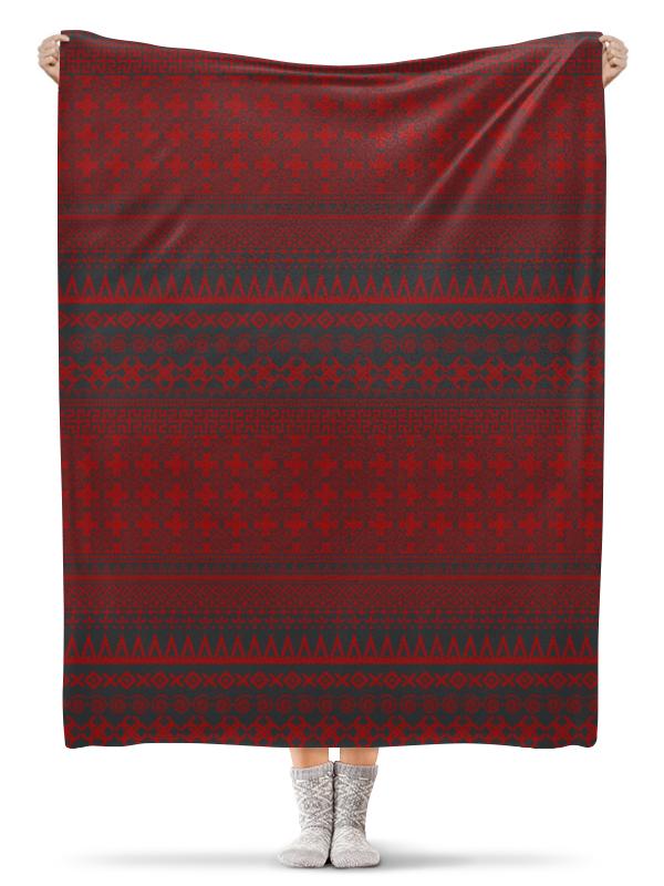 Фото - Printio Плед флисовый 130×170 см Плед обережный славянский плед