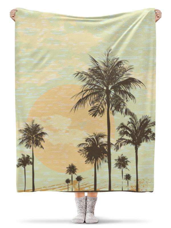 Фото - Printio Плед флисовый 130×170 см Гавайи printio плед флисовый 130×170 см красные маки на белом фоне