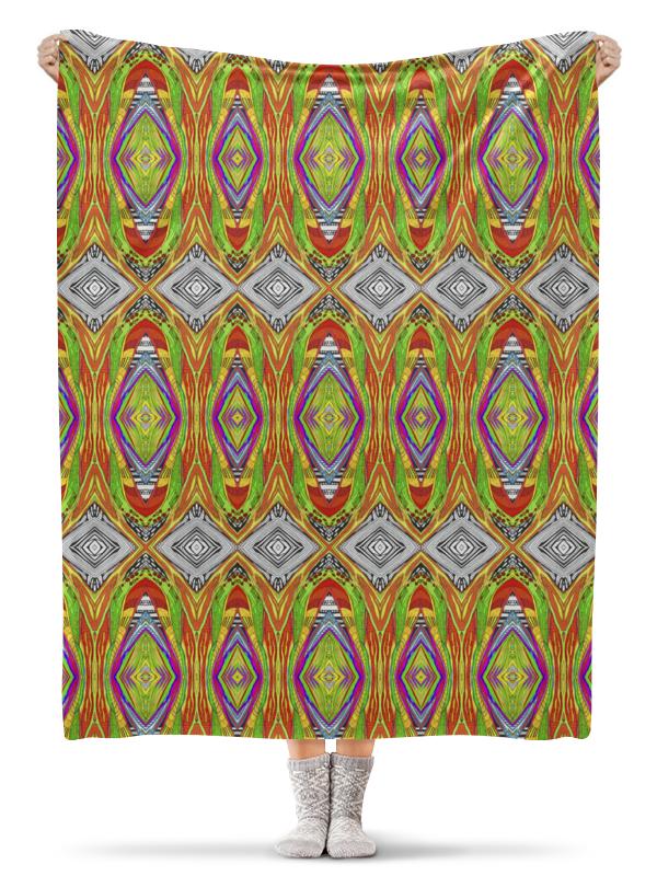 Printio Плед флисовый 130×170 см Теплый гипноз