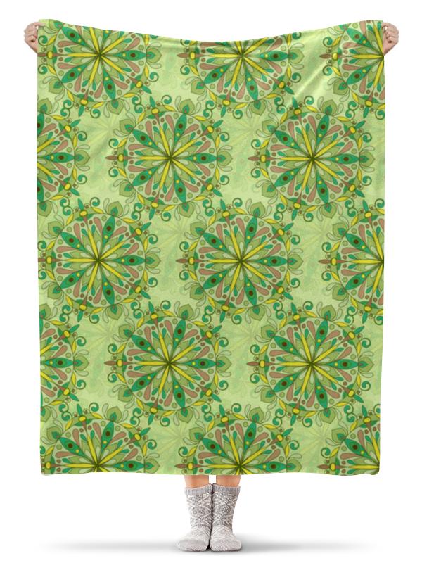 Фото - Printio Плед флисовый 130×170 см Зелёное поле printio плед флисовый 130×170 см красные маки на белом фоне
