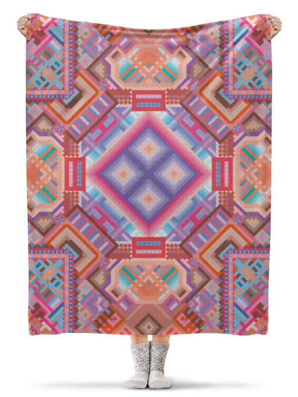 Printio Плед флисовый 130×170 см с абстрактным рисунком printio сумка с абстрактным рисунком
