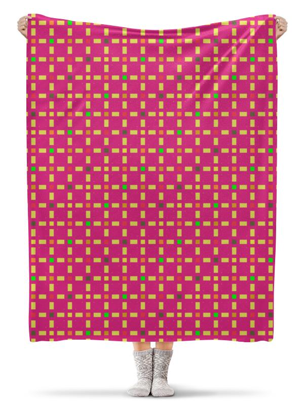 Фото - Printio Плед флисовый 130×170 см Розовый узор printio плед флисовый 130×170 см красные маки на белом фоне