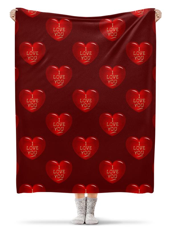 Фото - Printio Плед флисовый 130×170 см Сердечко scb271028 металлическая подвеска сердечко белая ножка 9 см сердечко 5 3 см scrapberry s