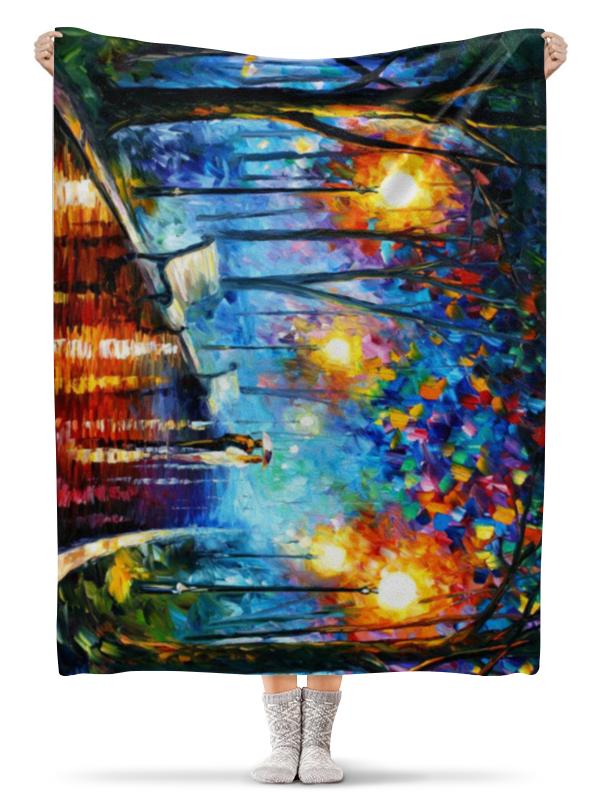 Printio Плед флисовый 130×170 см Краски осени