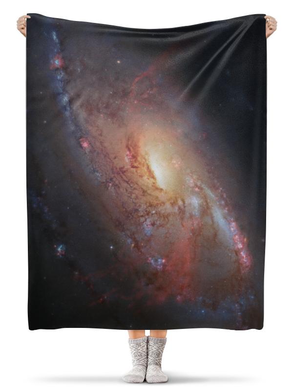 Printio Плед флисовый 130×170 см Яркий космос