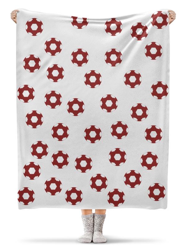 Фото - Printio Плед флисовый 130×170 см Красные мячи printio плед флисовый 130×170 см красные маки на белом фоне