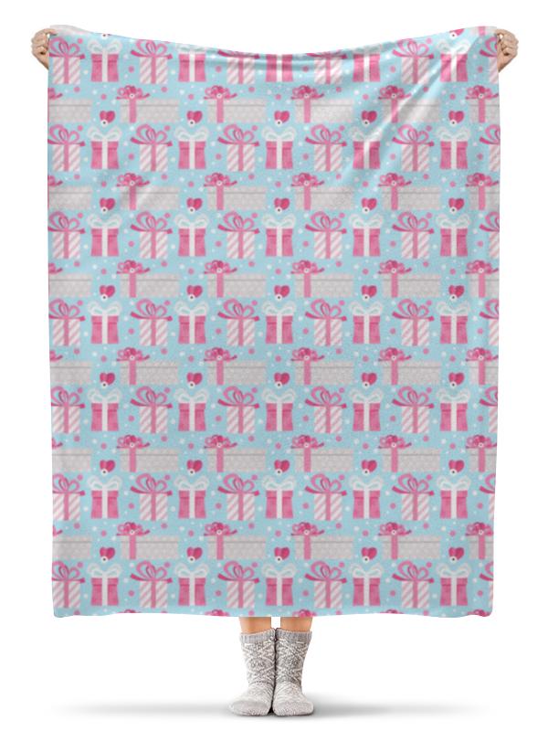 Printio Плед флисовый 130×170 см Новогодние подарки